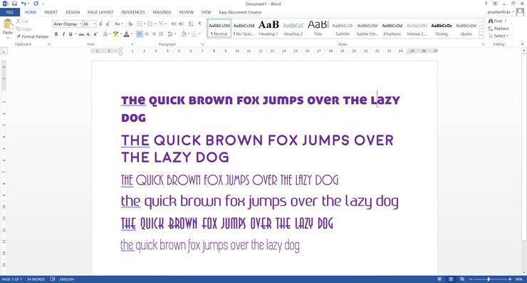free fonts 2015