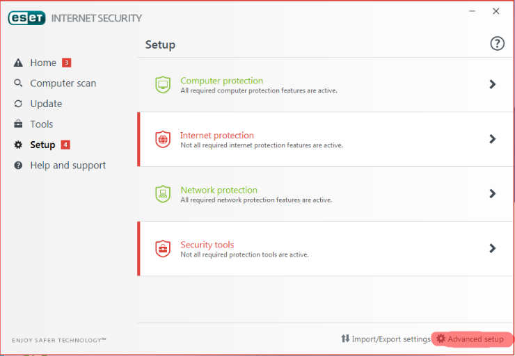 eset ssl enable 1