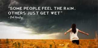 emotional rain quote info inspired