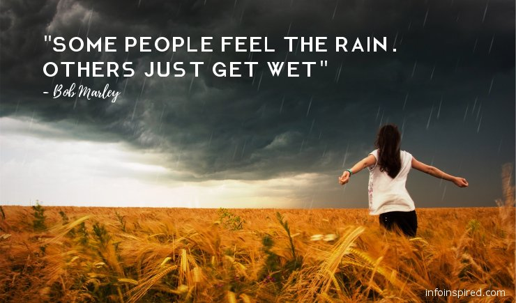 15 Rain Inspired Love, Emotional and Funny Quotes