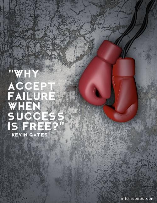 17 WhatsApp DP - WHY ACCEPT FAILURE WHEN SUCCESS IS FREE?