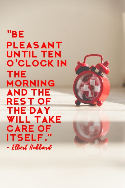 Elbert Hubbard's Pleasant Quotes with Pictures