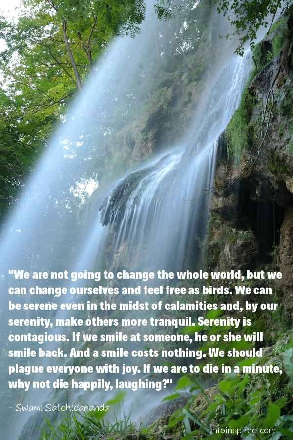 Swami Satchidananda Spiritual Quotes - Info Inspired