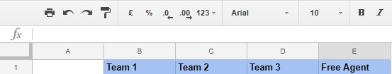 final step to auto populate info in Google Sheets based on drop down selection