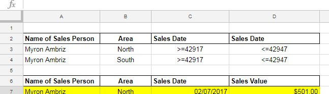 multiple dates in criteria in DSUM formula