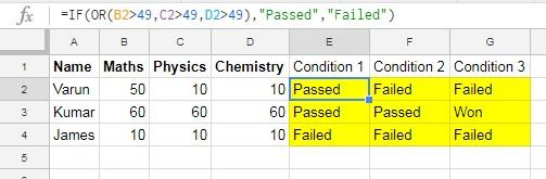 Hide Formulas in Google Sheets - File 1