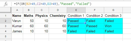 hide formula using function is Google Sheets