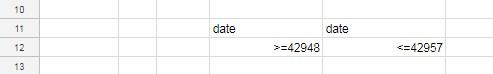 date comparison in dcount
