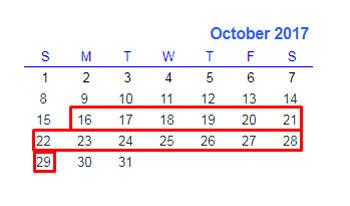Formula # 1 to Filter Data for Certain Number of Weeks