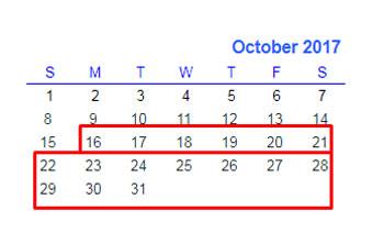 Formula # 2 to Filter Data for Certain Number of Weeks