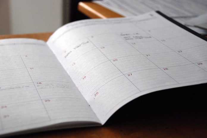 Week Start Date and Week End Date