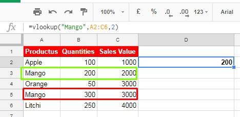 vlookup - can it