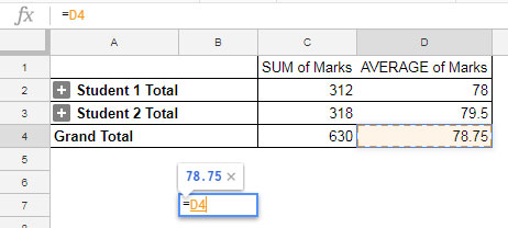 Purpose of the Google Sheets GETPIVOTDATA function