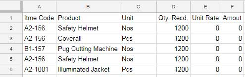sample data to group by first two letters in Google Sheets
