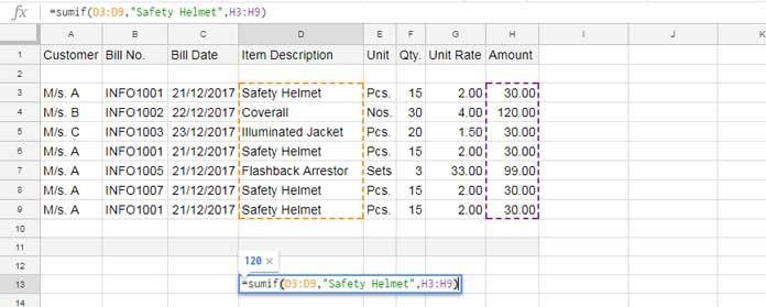 Sumif formula excludes newly inserted rows above and bottom