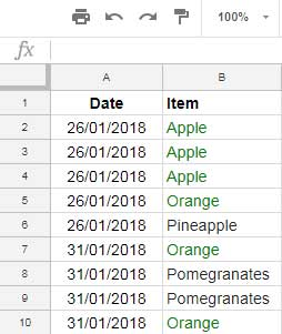 Examples to Multiple Countifs Criteria in Same Range