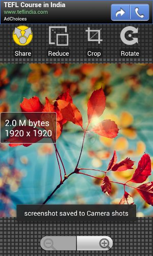 Cut, Crop and Reduce Image Size on Android Before Uploading