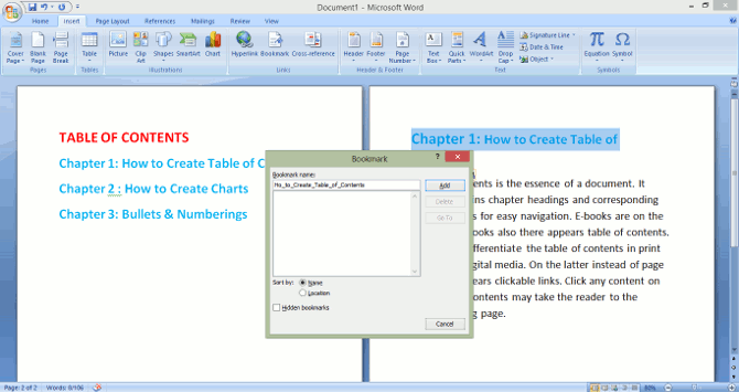 youtube how to make a table in word