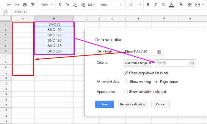 Restrict People from Entering Invalid Data on Google Doc