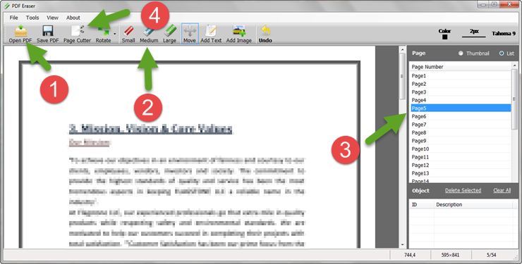 How to Quickly Delete Pages from Multi-Page PDF Documents