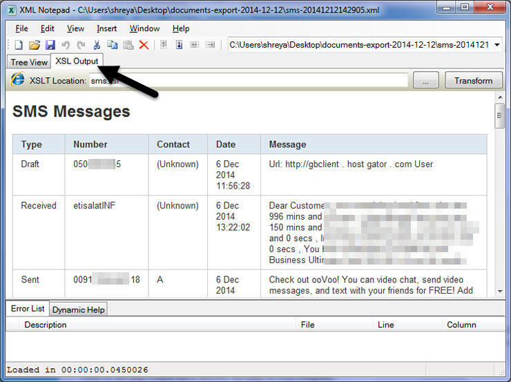 how to auto store copy of your every new sms on google drive