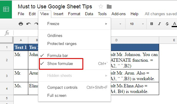 How to Copy and Paste from Google Sheet to Excel with Formulas