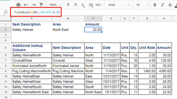 How To Use Vlookup With Multiple Criteria In Sheets Solved. Vlookup Formula With Multiple Criteria Simple Approach. Worksheet. Worksheetfunction Vlookup Doesn T Work At Clickcart.co