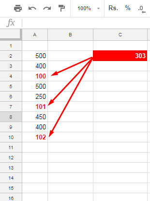 How to Sum Every Nth Row in Google Sheets Using SUMIF