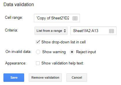 Data Validation For Converter