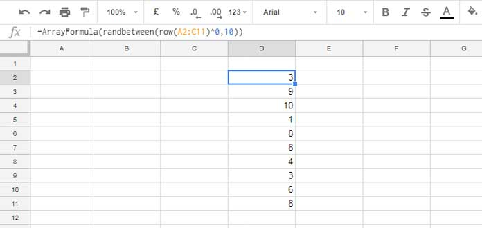 how to add columns and rows in google docs
