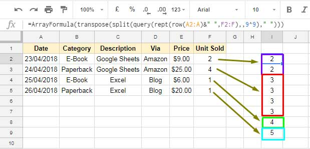 How to Insert Duplicate Rows in Google Sheets [Step by Step