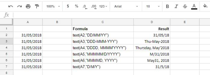 How to Use the Text Function in Google Sheets [Format Date and Number]