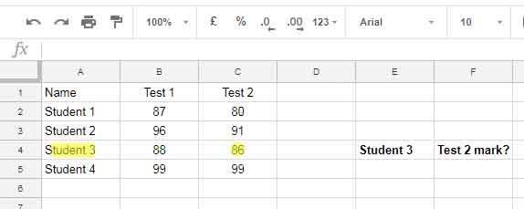 Vlookup in Google Sheets - 10 Formula Variations, Tips and