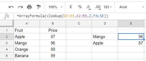 Vlookup in Google Sheets - 10 Formula Variations, Tips and