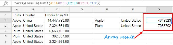 Multiple Criteria Sumif Formula In Google Sheets How To And Benefits