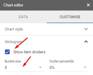 How To Create A Histogram Chart In Google Sheets