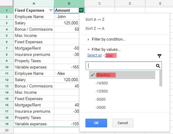 How to Fill 0 in Blank Cells in Google Sheets [Tips and Tricks]