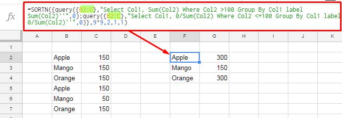 Return All Values in Query Group By Clause in Google Sheets