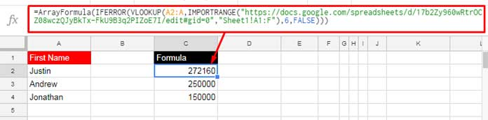 How to Vlookup Importrange in Google Sheets [Formula Examples]