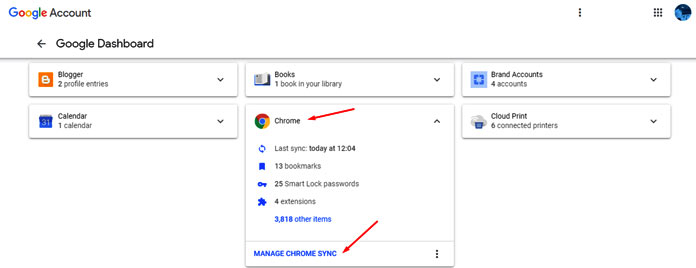 How to Remotely Log out and Clear Google Chrome Synced Data