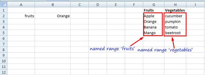Indirect in Excel vs Indirect in Google Sheets - Formula Comparison