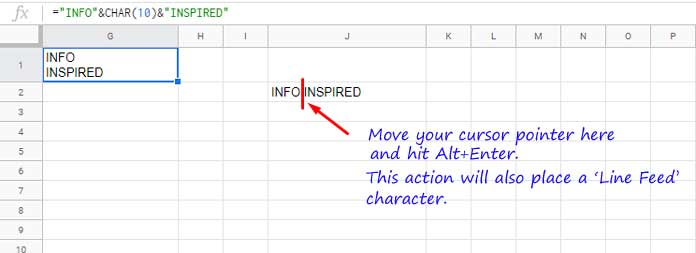 photo about Non Printable Characters named Contemporary Attribute inside of Google Sheets and Non-Printable People